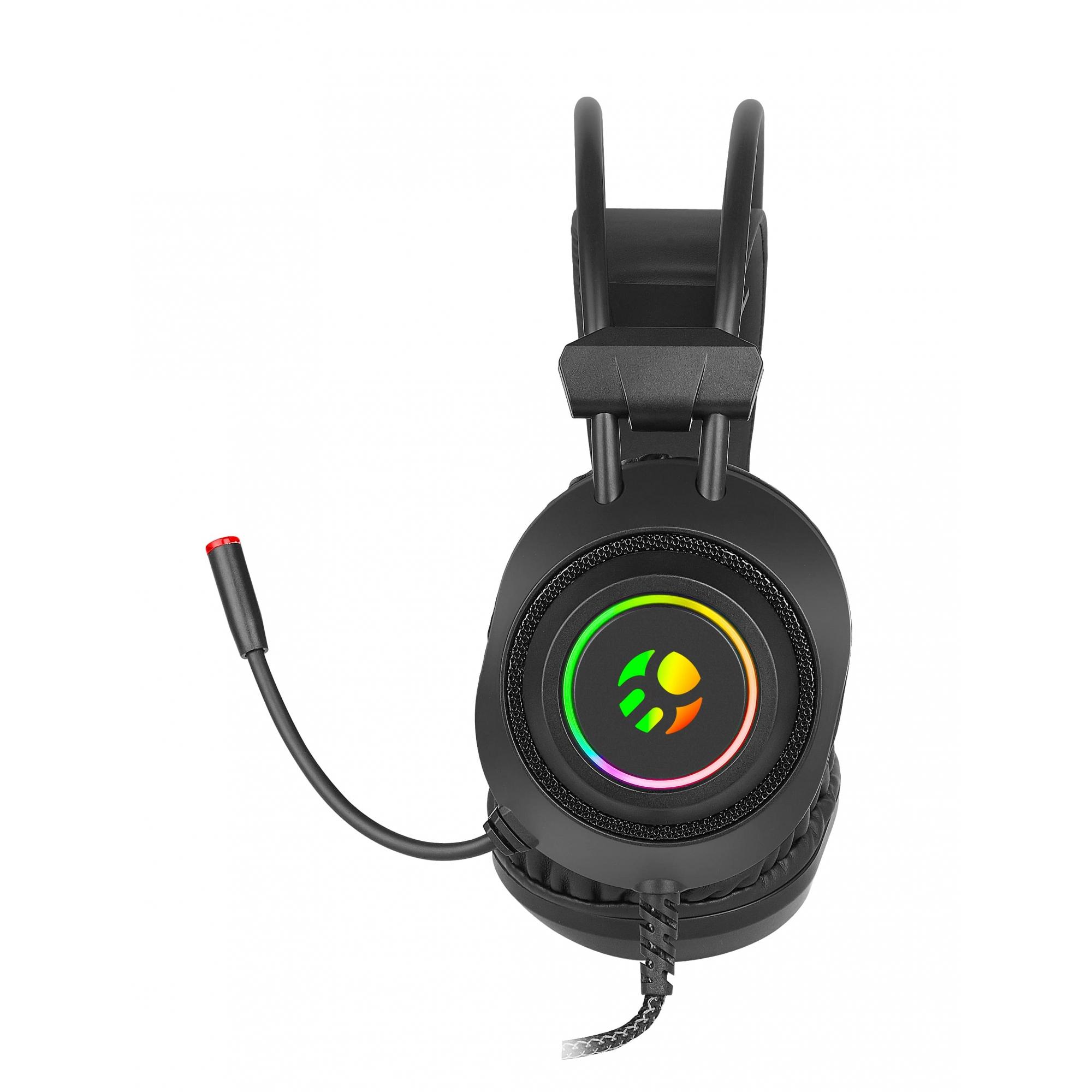 Headset Gamer Bluecase, Led RGB, P2 / USB, Compativel com PS4 - BHG-502