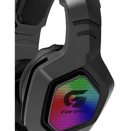 Headset Gamer Fortrek G Black Hawk, RGB, Drivers 50mm - 70530