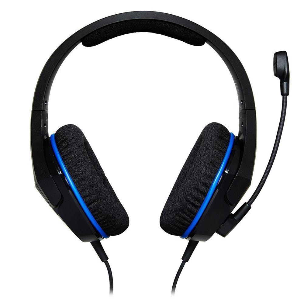 Headset Gamer HyperX Cloud Stinger Core, Drivers 40mm, PS5 PS4 Xbox One e Nintendo Switch, P3, Preto e Azul - HX-HSCSC-BK