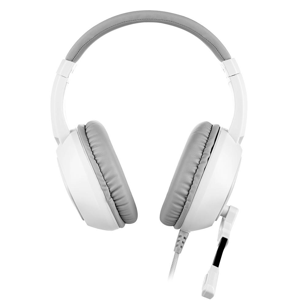 Headset Gamer Motospeed G750, RGB, 7.1 Virtual, Drivers 40mm, Branco - FMSHS0103BRO