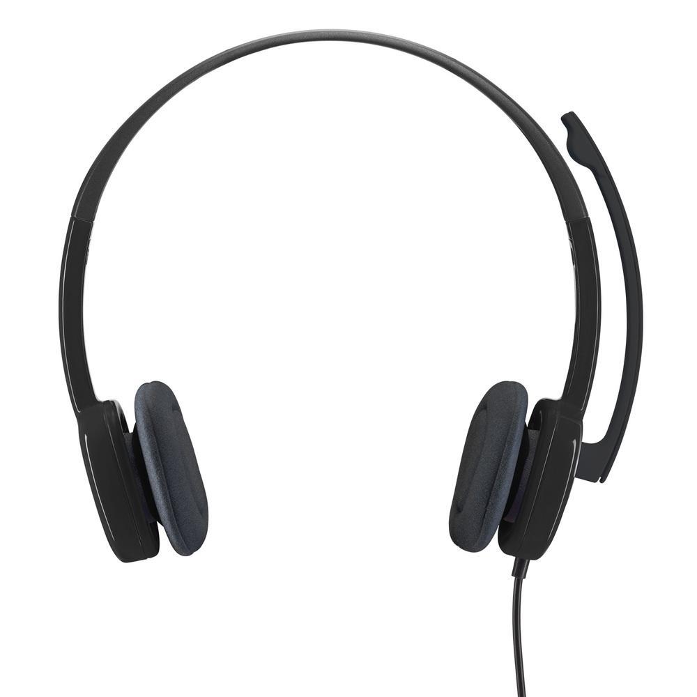 Headset Logitech H151 Estéreo Analógico P3 Preto - 981-000587