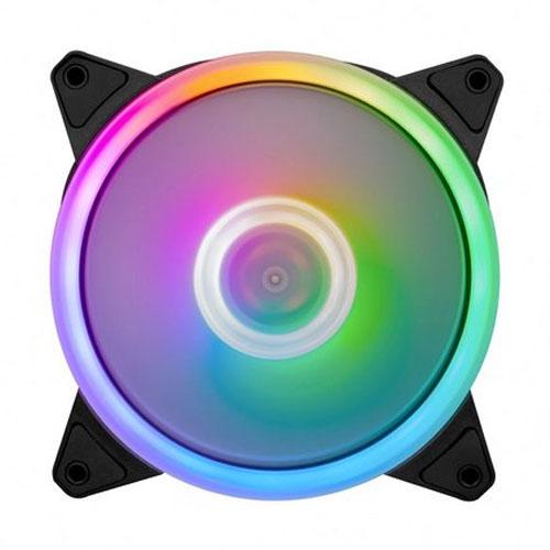 Kit Cooler Fan FirstPlayer RGB M1-PLUS com 3 un + controller - M1-PLUS