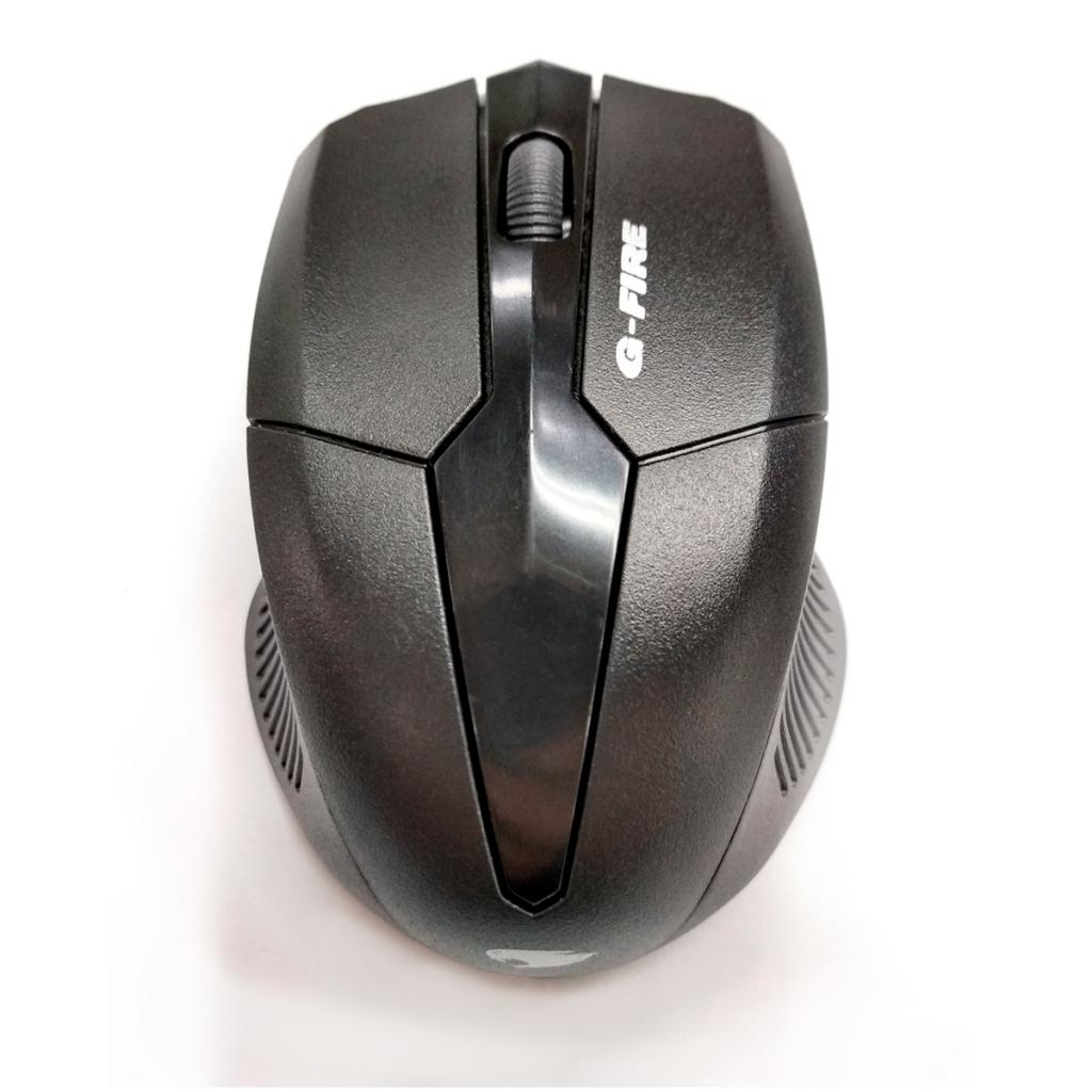 Kit Teclado e Mouse G-Fire, Sem Fio, Preto - KW192187