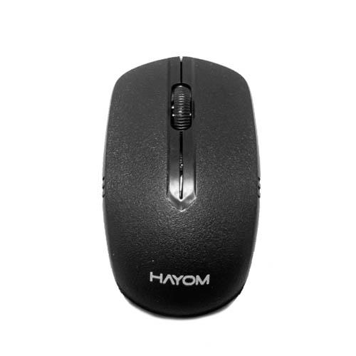 Kit Teclado e Mouse Sem Fio Hayom, Preto - TC3210