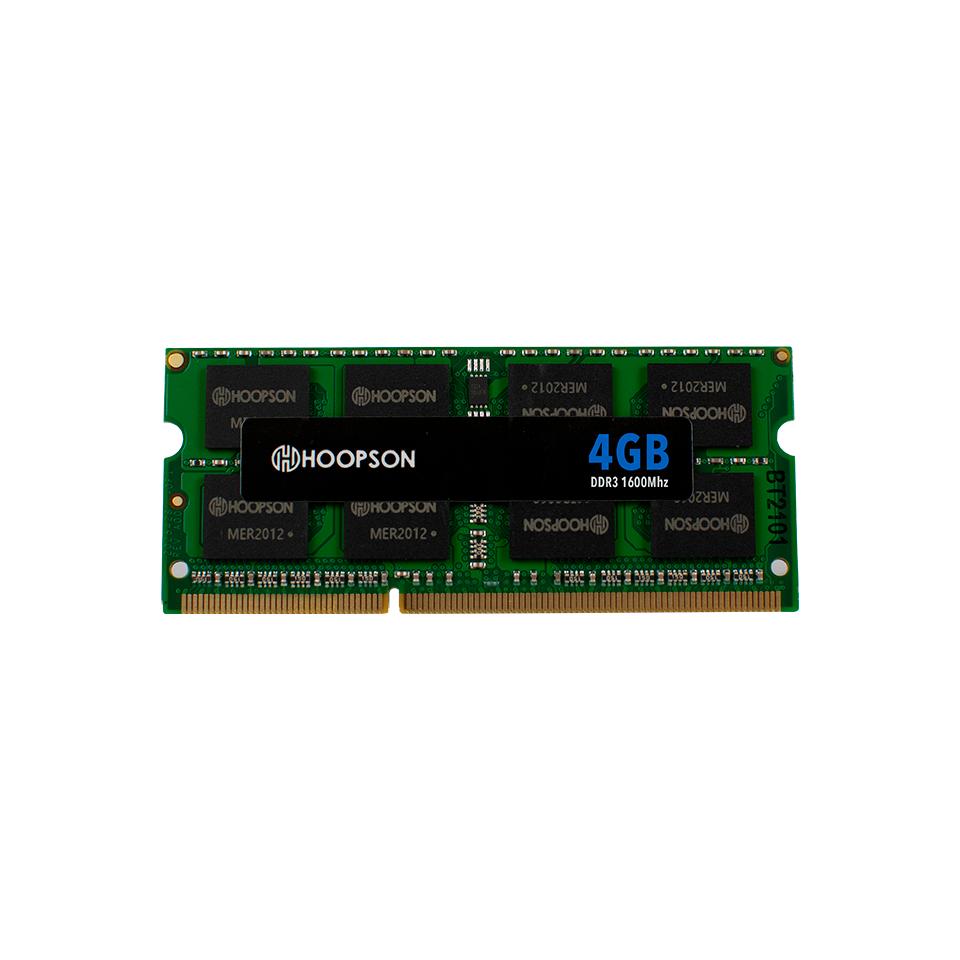 Memoria RAM Hoopson 4GB DDR3 1600Mhz (Notebook) DDR-1600-04G-01