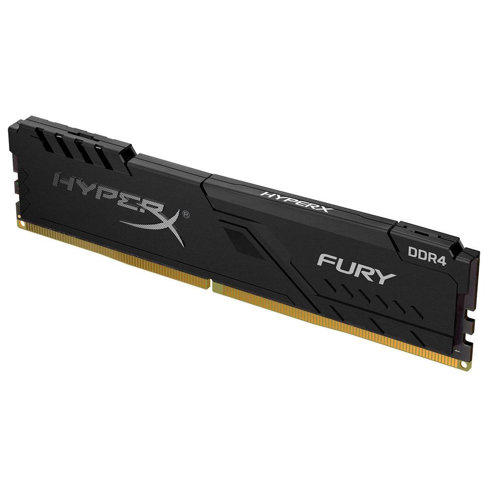 Memória RAM HyperX Fury 8GB 2666MHz, DDR4, CL16, Preto - HX426C16FB3/8