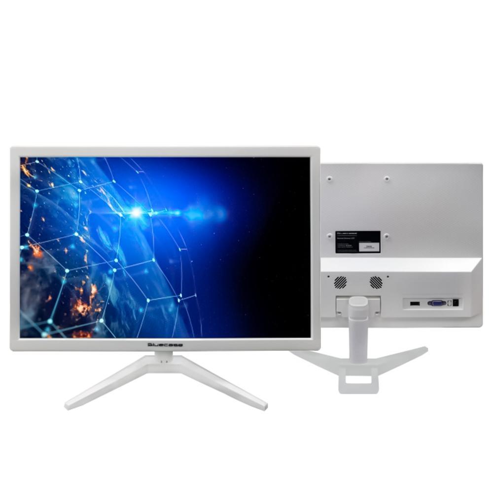 """Monitor Bluecase 19"""" Branco, HDMI e VGA Led - BM19D2HVW"""