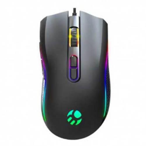 Mouse Gamer Bluecase BYAKKO , Led RGB, 10000DPI, 7 Botões - BGM-03