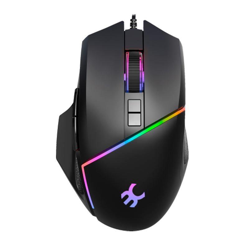 Mouse Gamer Bluecase, Led RGB, 6400DPI, 8 Botões - BGM-02
