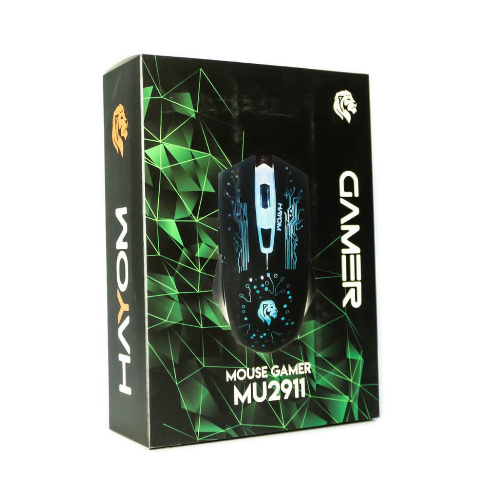 Mouse Gamer Hayom, USB - MU2911