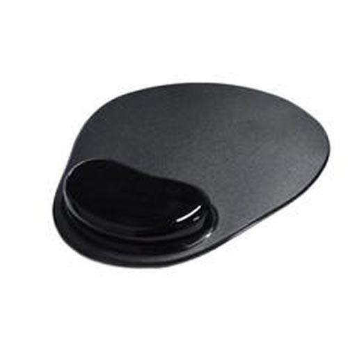 Mousepad com Apoio em Gel, Preto - MP0006B