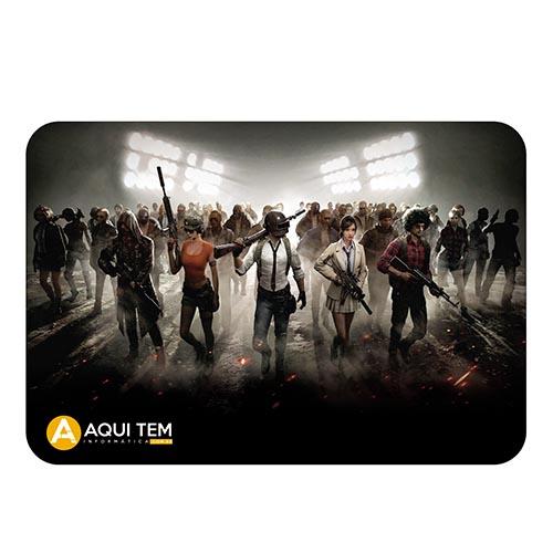 Mousepad Gamer AquiTem 34x24cm PUBG GAME