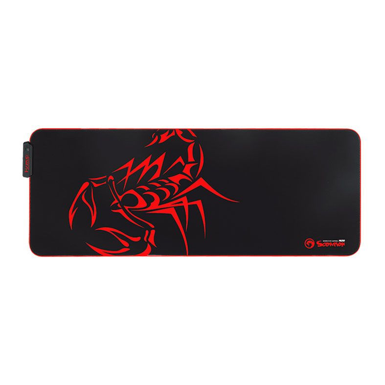 Mousepad Marvo Gamer Scorpion, Speed, Grande, RGB,  800X310X4MM, MG010