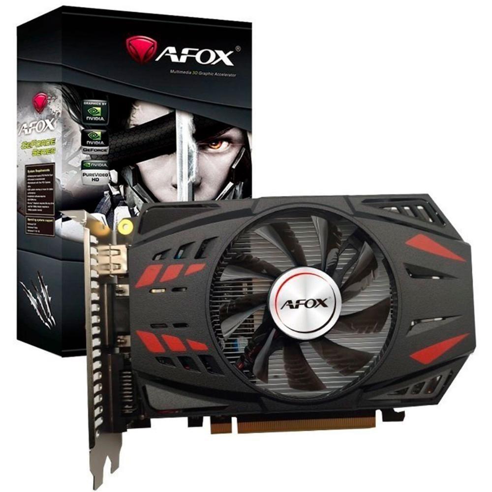 Placa de Vídeo Afox GTX 750Ti 4GB GDDR5 - AF750TI-4096D5H2-V2