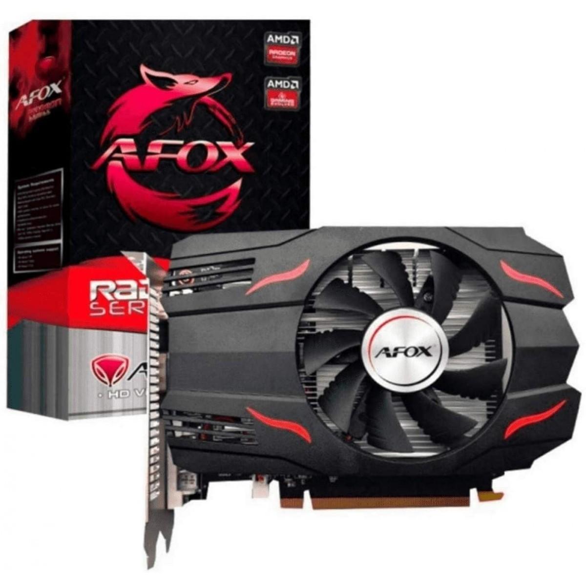 Placa de Vídeo Afox, Radeon, RX 550, 2GB, GDDR5, 128Bit, AFRX550-2048D5H7