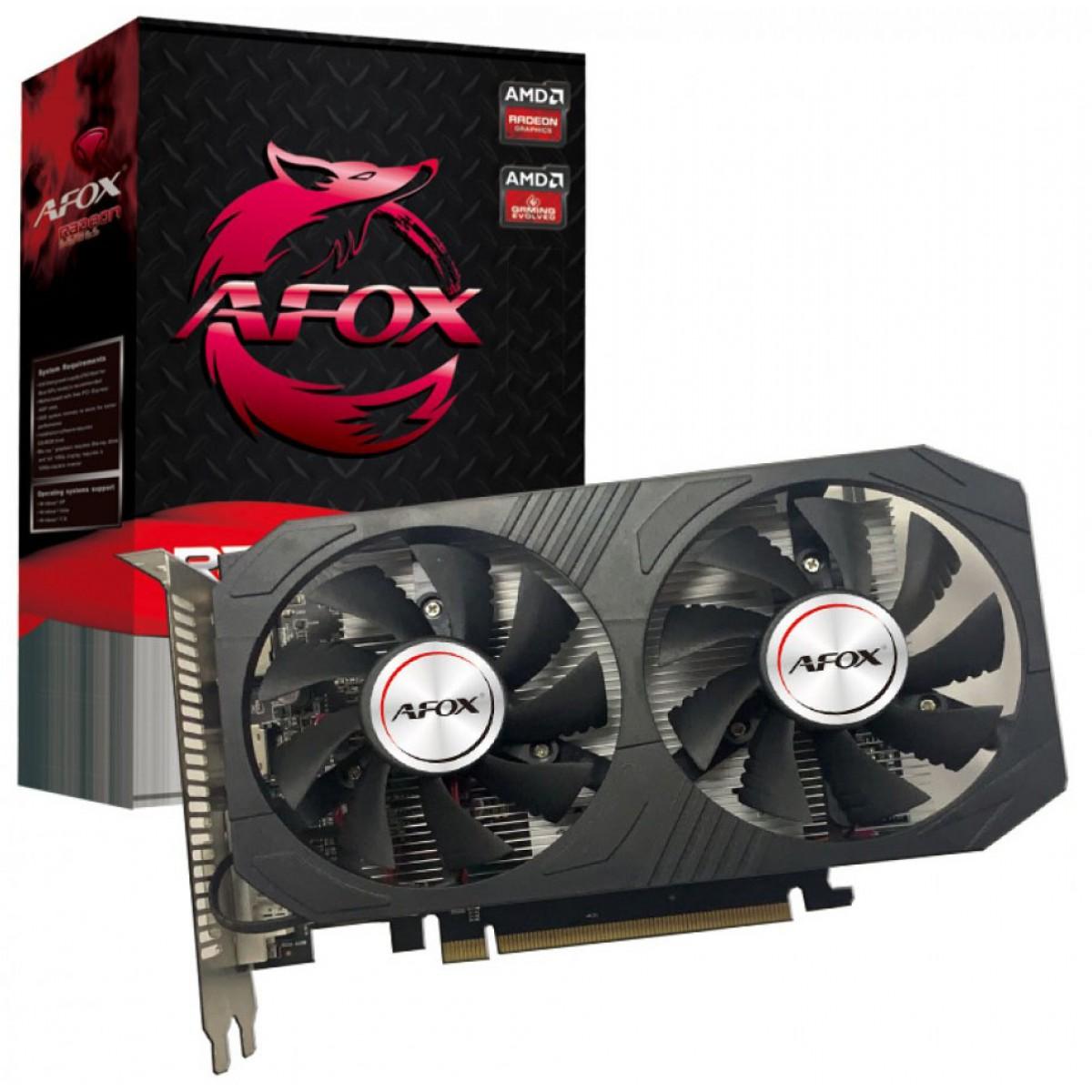 Placa de Video Afox Radeon RX 560 4GB GDDR5 - AFRX560-4096D5H4