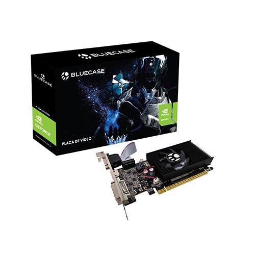Placa de Vídeo Bluecase NVIDIA GeForce GT 610 2GB DDR3 64bits