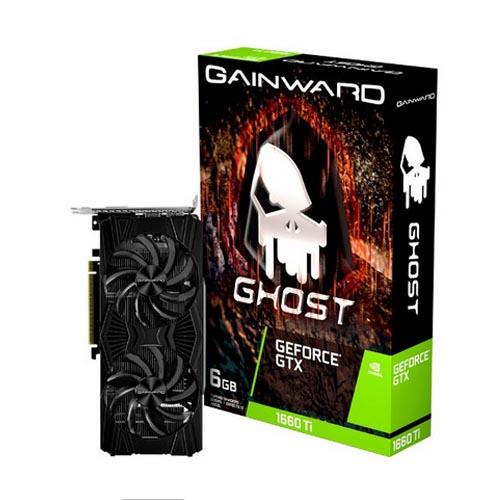 Placa de Vídeo Gainward GTX1660TI 6GB Ghost GDDR6 192BITS - NE6166T018J9-1160L