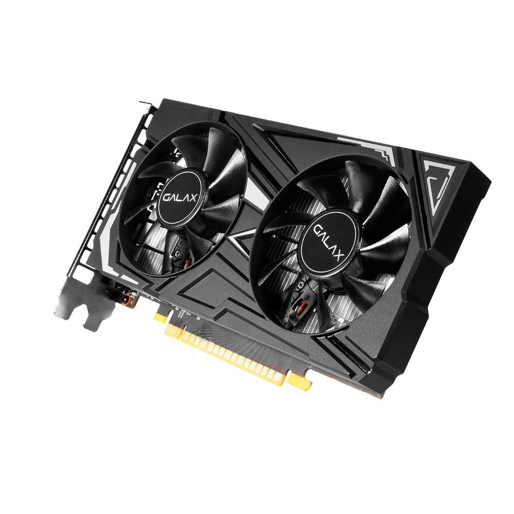 Placa De Vídeo Galax Geforce GTX 1650 4GB EX-1 Click OC PCI-E 4GB, GDDR6, 128 Bits - 65SQL8DS66E6