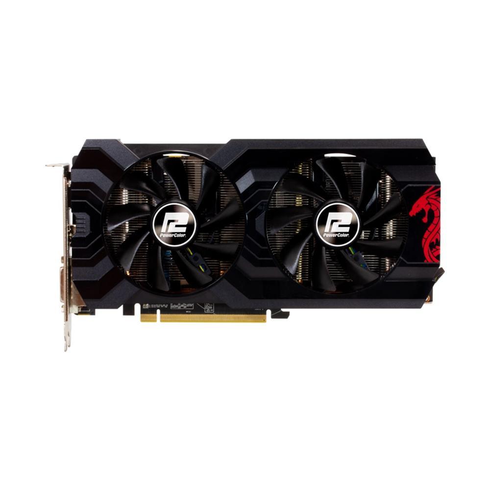 Placa de Vídeo PowerColor Radeon RX 570, 4GB, GDDR5 - AXRX 570 4GBD5-DHDV3/OC