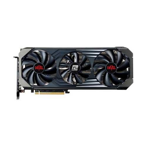 Placa de Video PowerColor Red Devil RX6700XT 12GB GDDR6, DP e HDMI - AXRX 6700XT 12GBD6-3DHE/OC