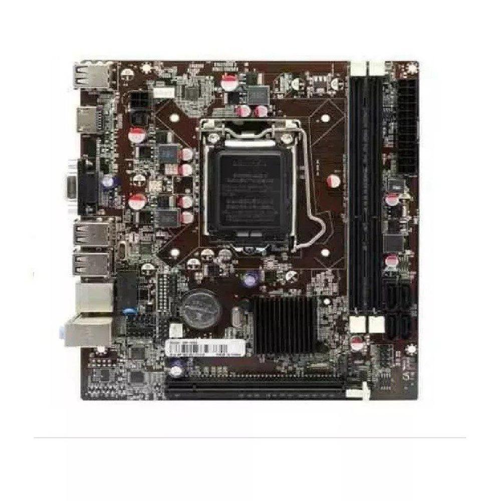 Placa-Mãe AFOX H61, LGA 1155, Micro-ATX H61-MA5