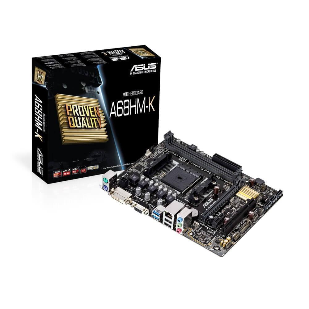 Placa Mãe Asus A68HM-K FM2+, DDR3