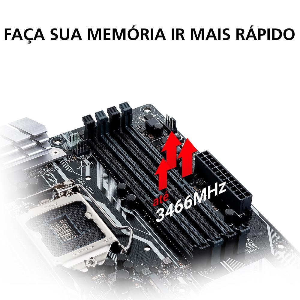 Placa-Mãe Asus Prime B450M Gaming/BR, AMD AM4, mATX, DDR4