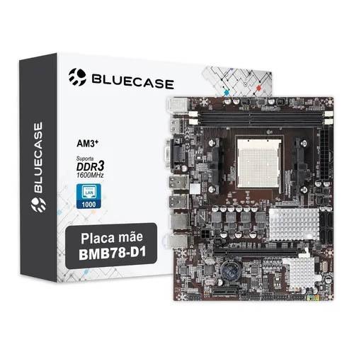 Placa-mãe Bluecase BMB78-D1 com Rede Gigabit AM3+