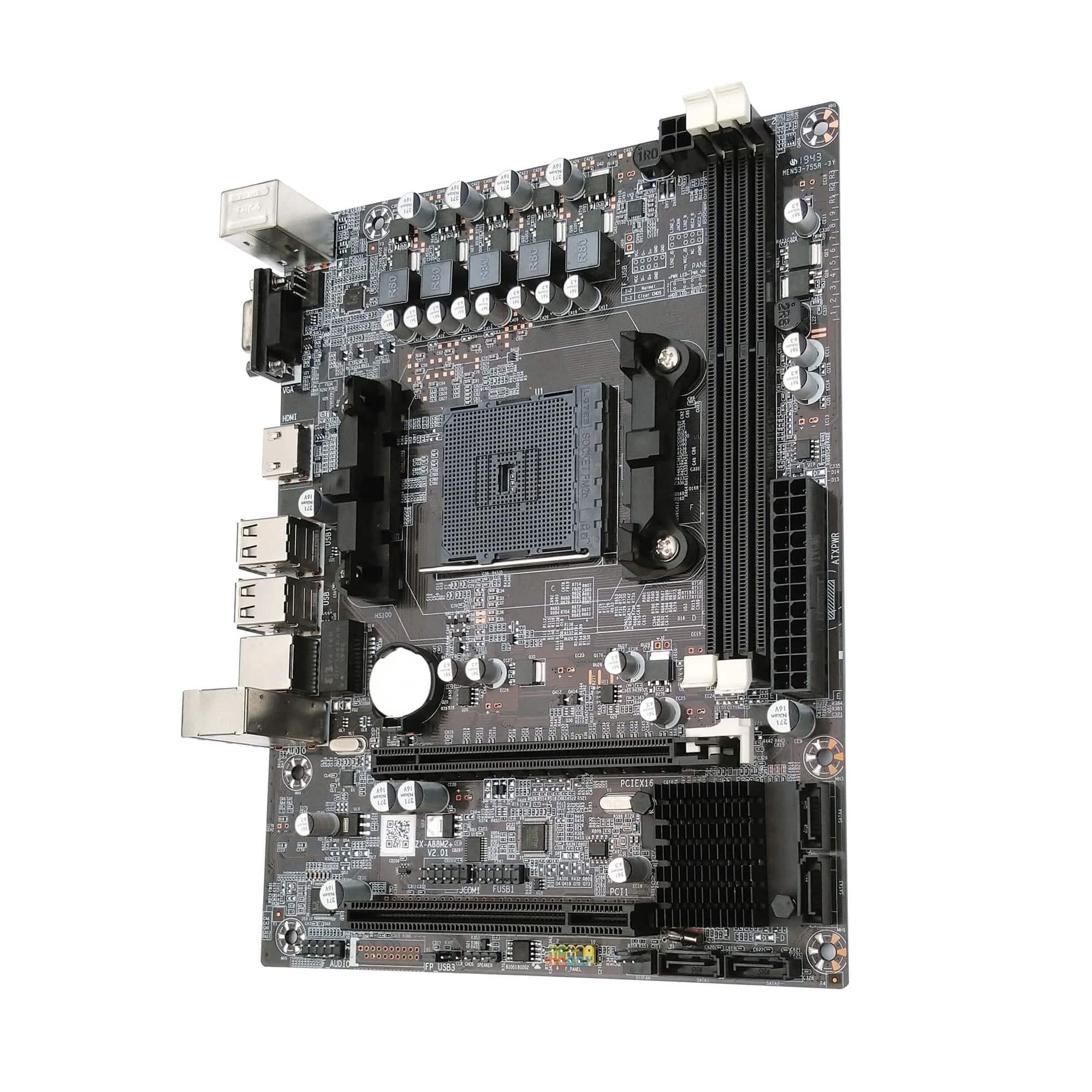 Placa Mãe Bluecase BMBF68-D, DDR3, BOX FM2+