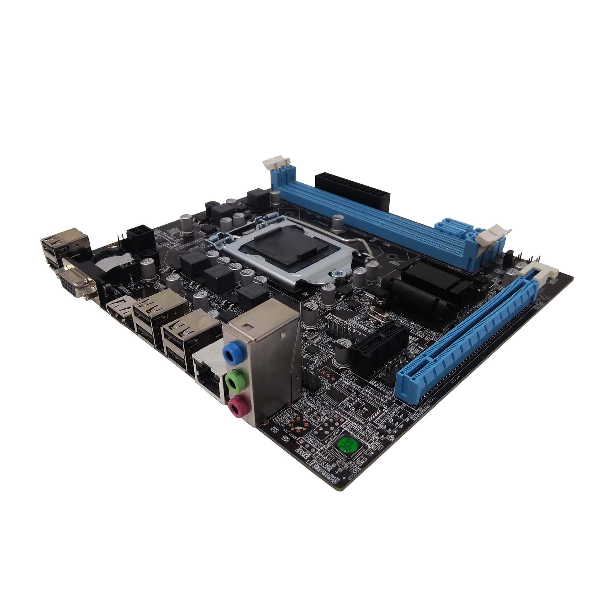 Placa-Mãe Bluecase BMBH61-T, LGA1155, DDR3.