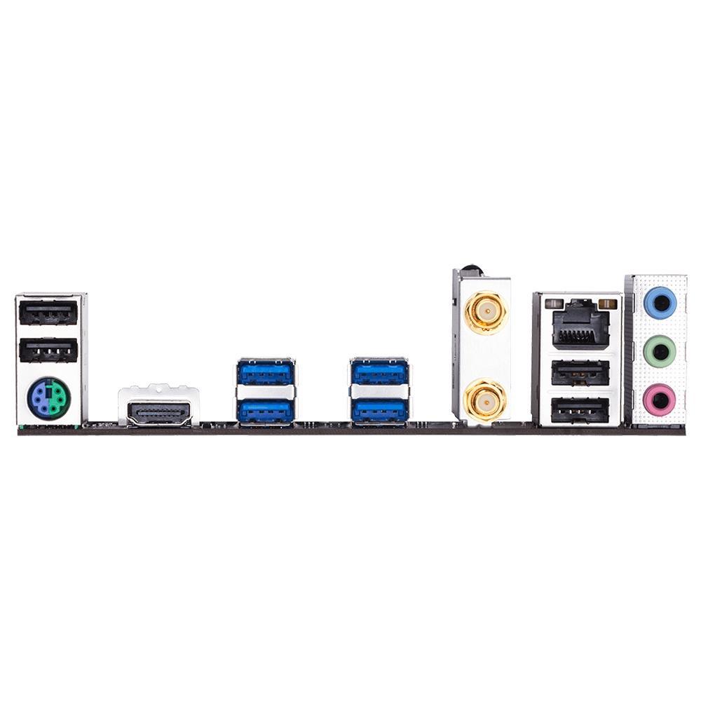 Placa-Mãe Gigabyte B450M DS3H WiFi, AMD AM4, Micro ATX, DDR4