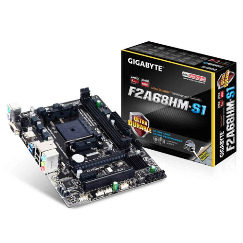 Placa-Mãe Gigabyte F2A68HM-S1, FM2+, DDR3