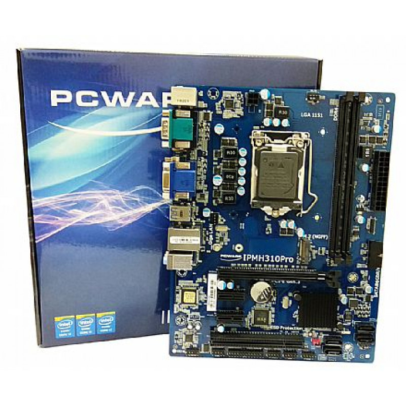Placa-Mãe PCWare IPMH310 Pro, LGA 1151 Para 9 e 10 Geração.