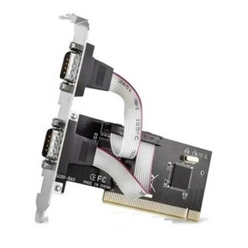 Placa PCI com 2 Seriais, Lotus - LT-P258