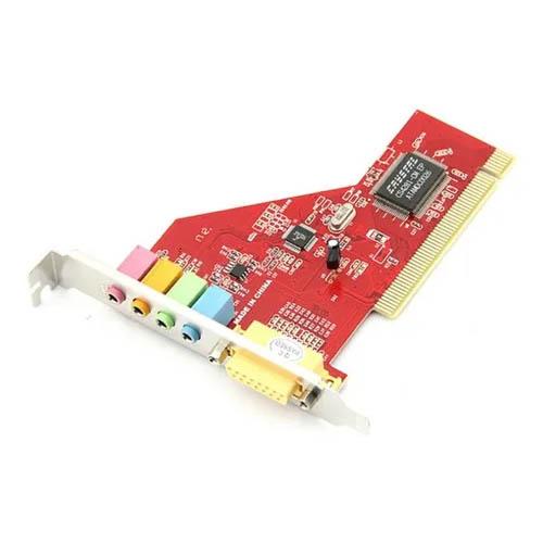 Placa PCI de Som, 4 Canais, Lotus - LT-P256