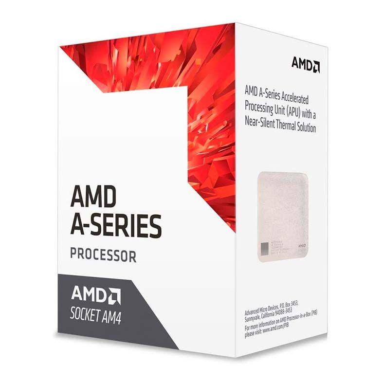 Processador AMD A6-9500 Dual-Core 3.5GHZ (3.8GHZ TURBO) 1MB Cache AM4, AD9500AGABBOX- OEM S/ COOLER