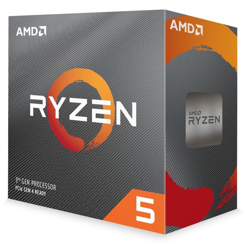 Processador AMD Ryzen 5 3600 Cache 32MB 3.6GHz(4.2GHz Max Turbo) AM4, Sem Vídeo - 100-100000031BOX