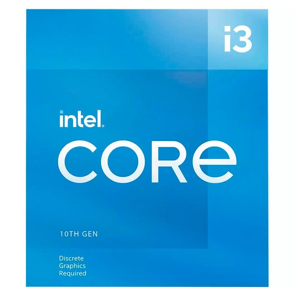 Processador Intel Core i3-10105F, Cache 6MB, 3.7GHz (4.4GHz Max Turbo), LGA 1200 - BX8070110105F