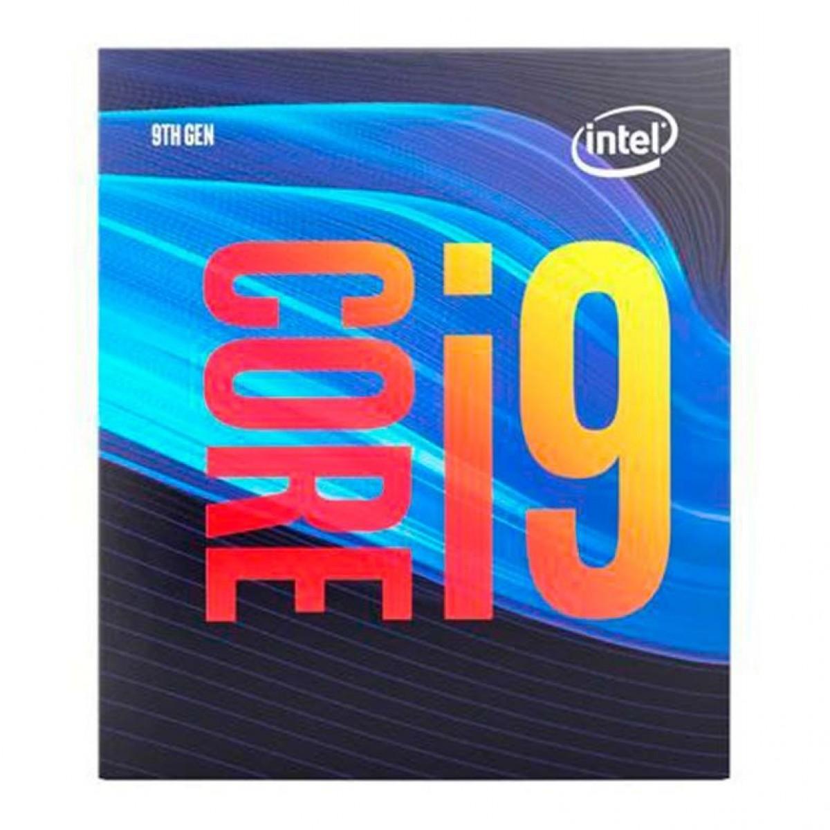 Processador Intel Core i9 9900 3.10GHz (5.0GHz Turbo), 9ª Geração, 8-Core 16-Thread, LGA 1151, BX80684I99900