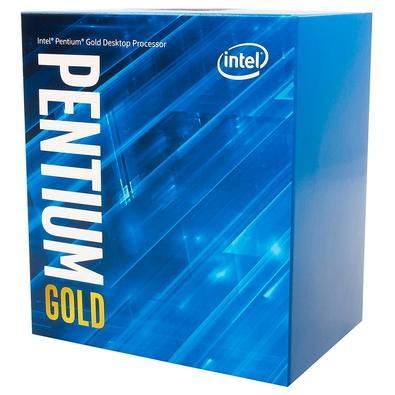 Processador Intel Pentium Gold G6400 BX80701G6400 Dual-Core 4GHZ 4MB Cache LGA1200