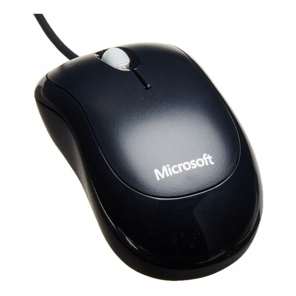 Teclado e Mouse - USB - Microsoft Wired Desktop 600 - Preto - APB-00005 / 1576 1113