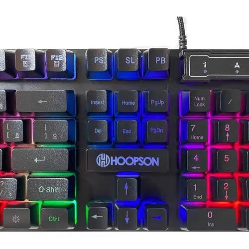 Teclado Gamer Hoopson TPC-061 X, LED, ABNT2 - TPC-061 X