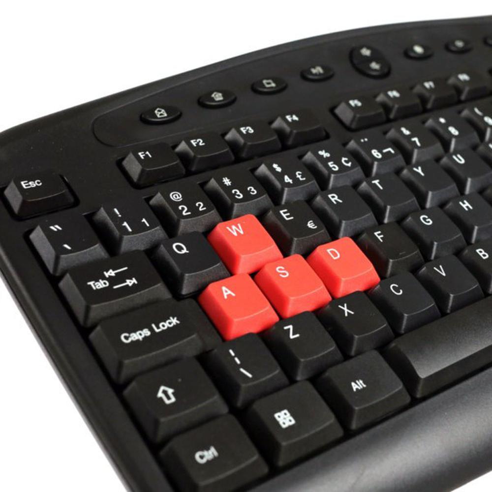 Teclado Gamer Hoopson, USB, ABNT2 - TPC-036