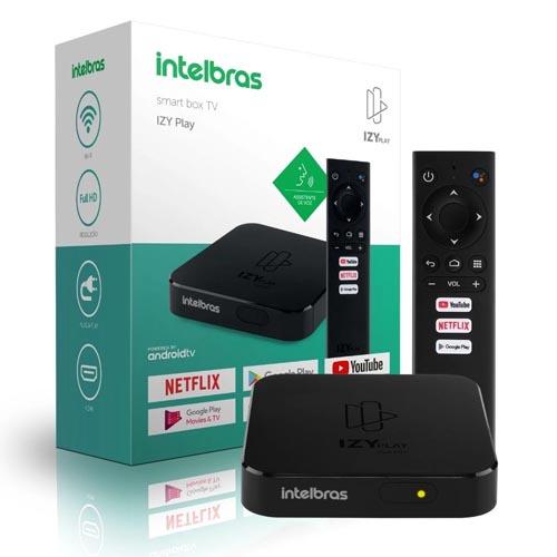 TV Box Intelbras Smart Box Izy Play, Full HD, Plug and Play, HDMI, Wi-Fi