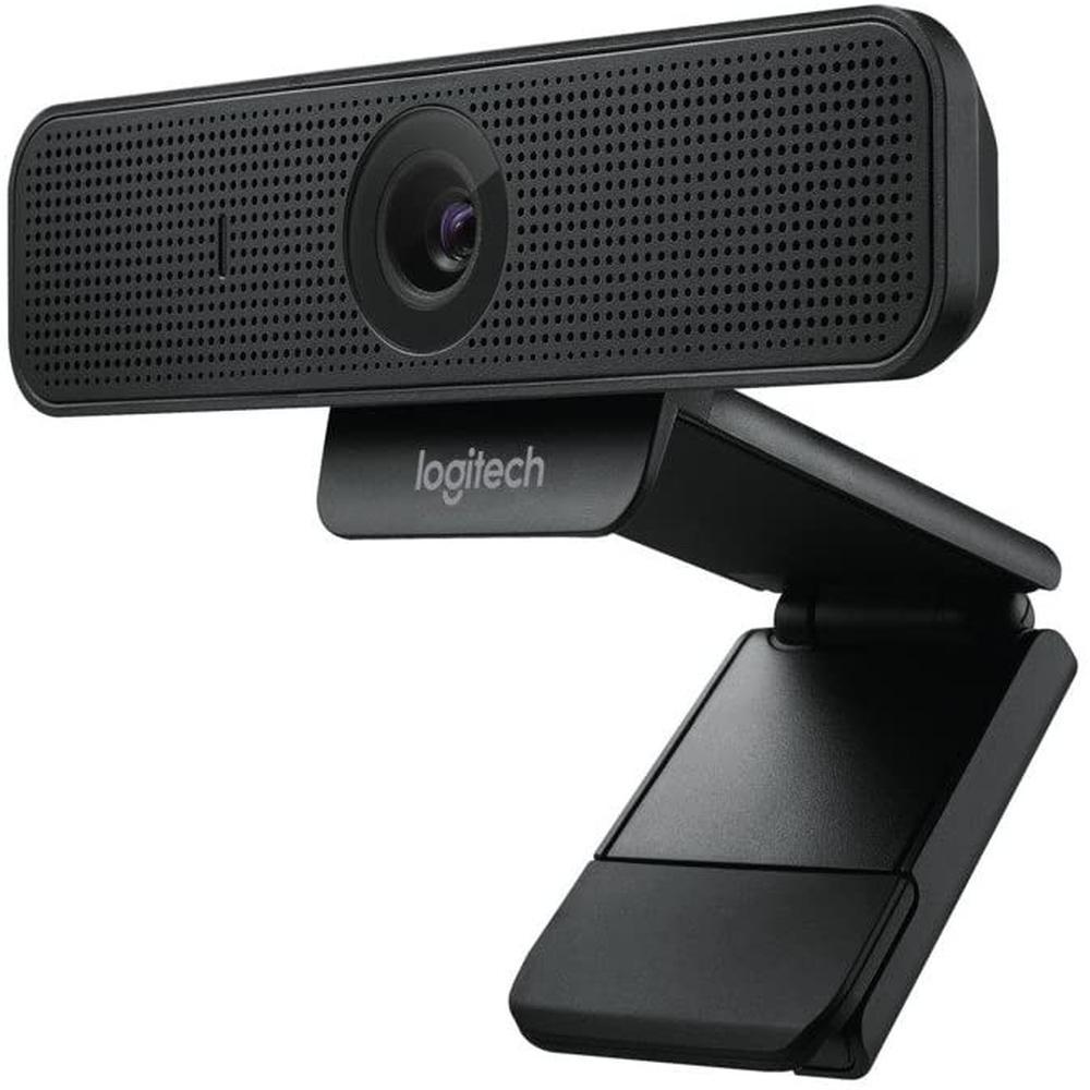 Webcam Logitech, C925e, Fullhd, 1080p, Preto - 960-001075