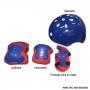 Patins Kit Turma da Aventura Azul 30-33 Unitoys