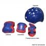 Patins Kit Turma da Aventura Azul 34-37 Unitoys