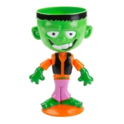 Copo Halloween Monstro - 17CM GRANDE - Dia das Bruxas - Festa do Terror - Silver Festas é na Pirulito