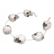 Enfeite Cordão Caveira Halloween C/6 Unidades - Decoração para Festas - Dia das Bruxas - Silver Festas